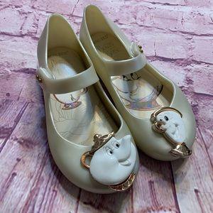 Mini Sed Girls Sz 11 Beauty & the Beast Shoes